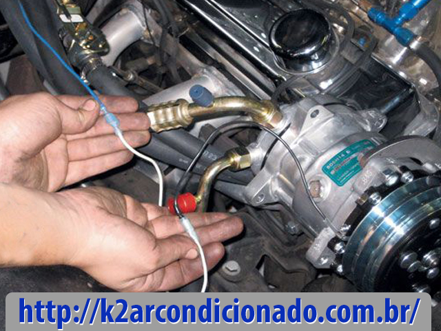 compressor ar condicionado automotivo interno