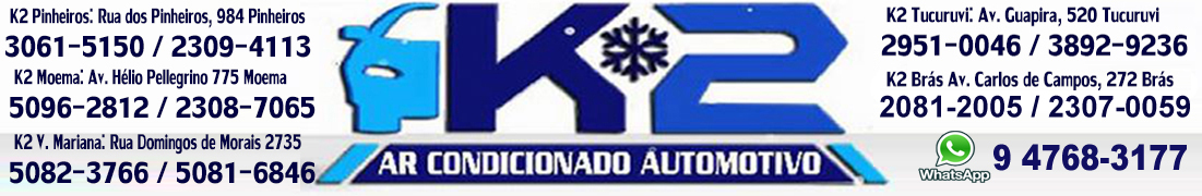 K2 Ar condicionado automotivo